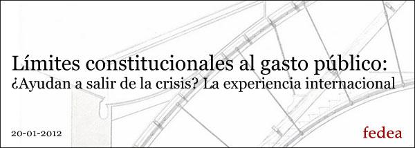 Conferencia sobre la experiencia internacional en la aplicación de límites constitucionales al Gasto Público