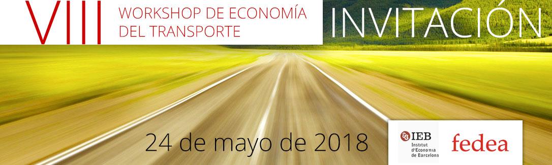 VIII Workshop de Economía del Transporte
